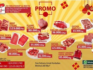 Ilustrasi penjualan daging Dharma Jaya (Ist)