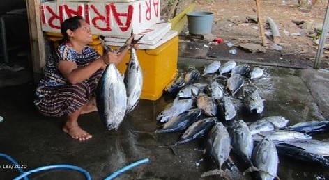 Foto yang dibuat Ketut Milantini, seorang ibu rumah tangga Desa Les, Buleleng.